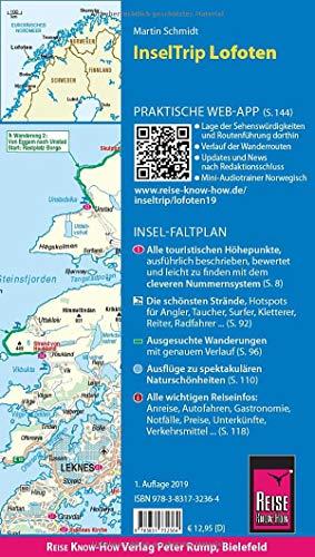 Reise Know-How InselTrip Lofoten: Reiseführer mit Insel-Faltplan und kostenloser Web-App: Alle Infos bei Amazon