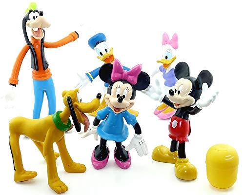 Kinder Überraschung 6 Werbefiguren - Biegefiguren von Walt Disney Albert Heijn