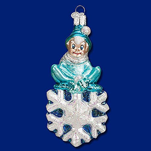 Old World Christmas Jack Frost Glass Ornament by Old World Christmas -