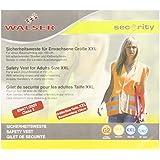 Walser 43875 Chaleco reflectante talla XXL para adultos EN 1150, naranja