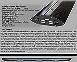 Bio-PUR Aquarien-Hängelampe Real Light HQI Leuchte 3x150W+ 2x54W T5 180cm - Schwarz