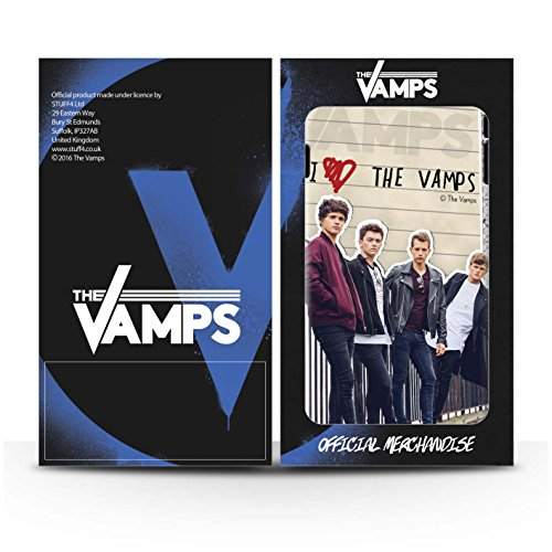 Offiziell The Vamps Hülle / Case für Apple iPhone SE / Pack 5pcs Muster / The Vamps Geheimes Tagebuch Kollektion Band