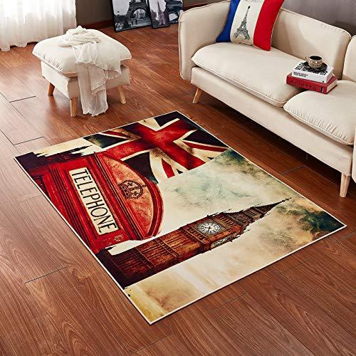 Nordic modern 3d bandiera tappeto ispessimento semplice creativo tavolo da caffè divano/letto da letto/soggiorno/bagno/studio/yoga nuovo mat rettangolare antiscivolo antipolvere,3,160*230cm