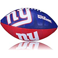 Wilson Football NFL NY Giants Logo, Royal/Rot, Junior, WL0206183840