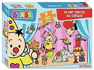 Studio 100 MEBU00003960 Puzzle Puzzle - Rompecabezas (Puzzle Rompecabezas, Juguete, Niños, Niño/niña, Caja, 9 Pieza(s))