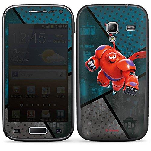 DeinDesign Samsung Galaxy Ace 2 Case Skin Sticker aus Vinyl-Folie Aufkleber Disney Baymax Merchandise Fanartikel - Big Six Hero 2