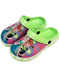 263d74540803a3 Disney® Frozen Official Children Kids Girls Sandals Swimming Pool Beach  Slippers Shoes UK Sizes (18months…