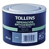 Tollens 8101 Imprimación Antioxidante Al Agua, Gris, 375 ml