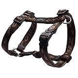 Rogz Alpinist Hunde H-Brustgeschirr (Large) (Braun)