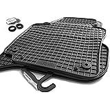 Gummi Fußmatten VW Golf 5 6 Jetta Scirocco Orignal Qualität 4-teilig schwarz Gummimatten