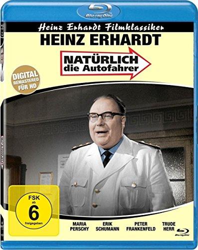 Natürlich die Autofahrer (Heinz Erhardt Filmklassiker) (Blu-ray)