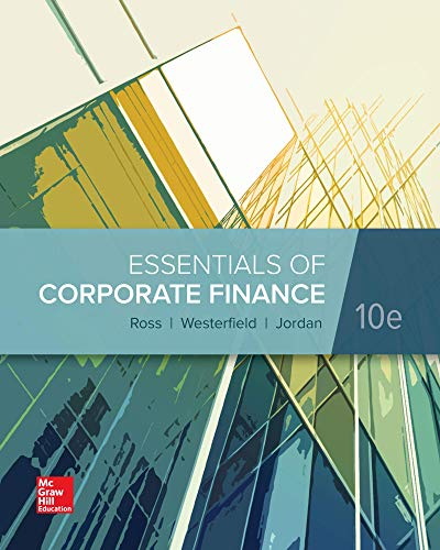 Loose Leaf for Essentials of Corporate Finance