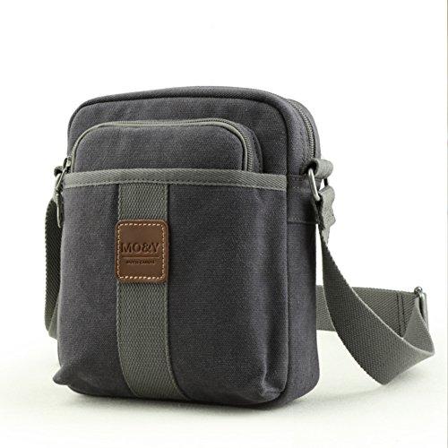 Koreanische Männer Umhängetasche/Canvas Messenger Bag/Diagonale Mode Ranzen-A A