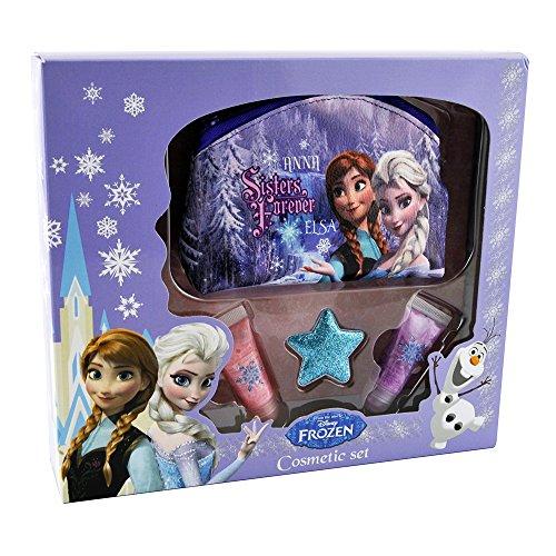 Disney Coffret Cadeau Beauté Frozen la Reine des Neiges Travel Set