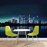 Tapeto Fototapete - City Skyline New York - Vlies 254 x 184 cm (Breite x Höhe) - Wandbild Stadt und Städtisch