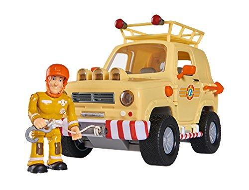 feuerwehrmann sam gelaendewagen Simba 109251001 Fireman Sam 109251001-Feuerwehrmann Tom's
