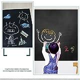 Tafel-Kontakt-Papier Mehrzwecktafel-Kontakt-Papier-Wand-Abziehbilder für Hauptküche-Kinderraum-Tapete, Büro, Restaurant-Kaffee-Bar-Menü Tafel-23.6inX6.5ft