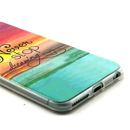 TIODIO® 4 en 1 Cuir Coque Rigide Case Etui Housse Smart Case Coquille avec pour Apple iphone 6S/iPhone 6, Stylus et Film protecteur inclus, A11 A20