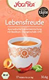 Yogi Tea Bio Lebensfreude mit Basilikum, Orangenschale und Chili, 17 Teebeutel, 30,6 g