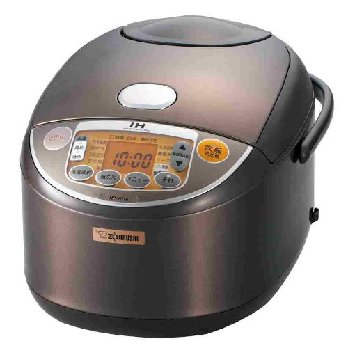 ZOJIRUSHI IH Reiskocher [Ein Scheffel kochen] braun NP-VC18-TA (Zojirushi Reiskocher)