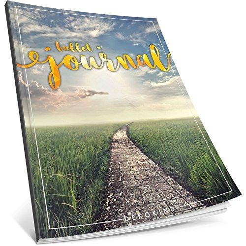 Dékokind Bullet Journal: Ca. A4-Format 100 Seiten, Punktraster Notizbuch mit Register Dotted Grid Notebook, Punktkariertes Papier, Zeichenbuch ArtNr. 23 Hoffnung Vintage Softcover
