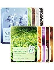 TONYMOLY Pureness 100 feuilles de masque (Set Variety - 10 feuilles)