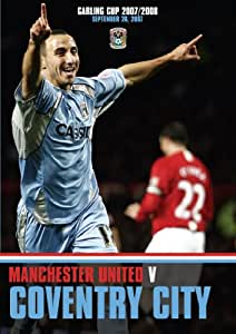 Coventry City v Manchester United (Carling Cup 2007/08) [DVD]
