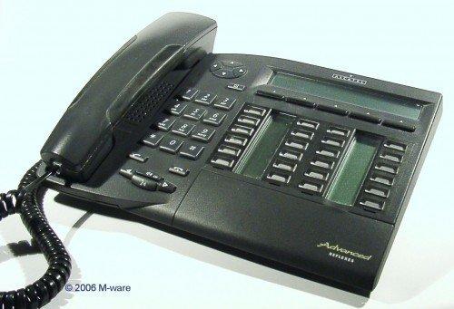 Alcatel Advanced 4035 Phone Graphite System ID1592