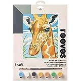 Reeves Giraffe Paint by Numbers Set, Medium
