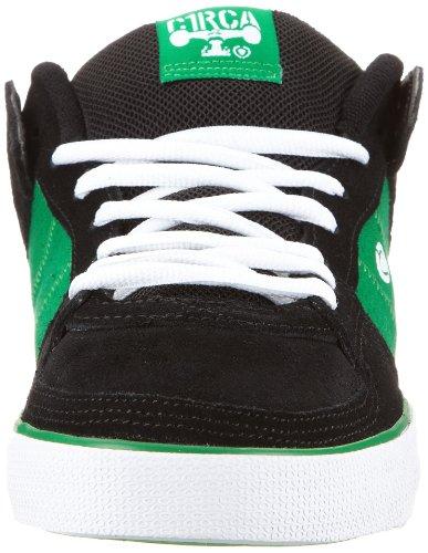C1RCA Tre TRE-BKFG, Sneaker uomo Nero (Schwarz (BKFG))