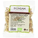 BIONSAN - BIO - Cacahuètes Blanchies Salées 120 g -