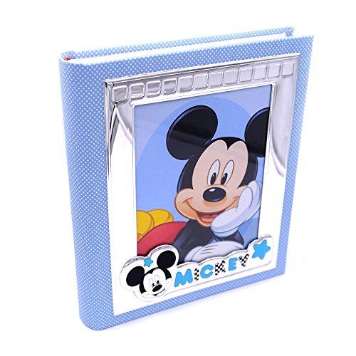 Valenti&co_album fotografico_argento_mickey mouse_disney_30x30cm