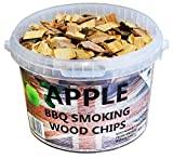 Best Chips - 3 Litre BBQ Smoking British Wood Chips (Apple) Review