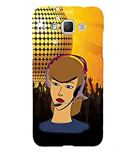 PrintVisa Speaker Headphone Instrument 3D Hard Polycarbonate Designer Back Case Cover for Samsung Galaxy Grand Max G720
