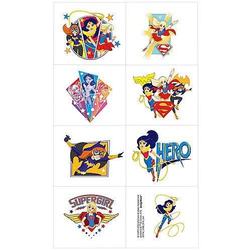 DC Super Hero Girls 8 Stk ()