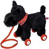 Funny Animal Parade Scotti Terrier cane peluche trainabile, Nero, 27 cm, modello # 11701