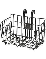 Cesta de la bicicleta del alambre Cesta delantera y posterior plegable para las compras y los perros