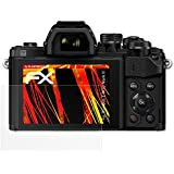 Olympus E-M10 Mark II Film Protection d'écran - 3 x atFoliX FX-Antireflex-HD antireflets haute résolution Film Protecteur
