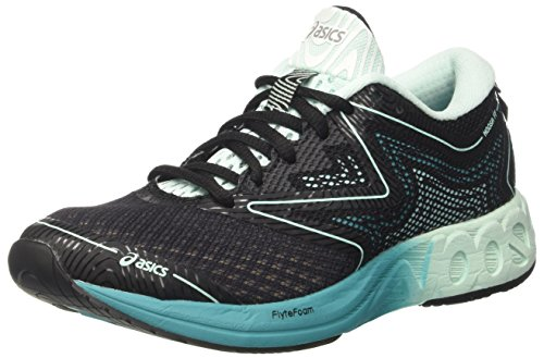 Asics Noosa FF, Zapatillas de Running Mujer, Multicolor (Black/Bay/Viridian Green), 39 EU