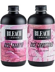 () Javel Londres Rose Shampooing x 250ml & Eau de Javel Londres Rose Après-shampoing x 250ml