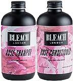 (2er-Pack) Bleach London Rose Shampoo x 250ml & Bleach London Rose Conditioner x 250ml