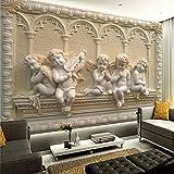 Cucsaistat Wallpaper Europa 3D En Relieve Jade Dormitorio Sala De Estar Sofá TV Fondo De Pantalla De La Pared Pintura