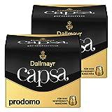 Dallmayr Capsa Prodomo, Nespresso Kompatibel Kapsel, Kaffeekapsel, Arabica Röstkaffee, Kaffee, 20 Kapseln