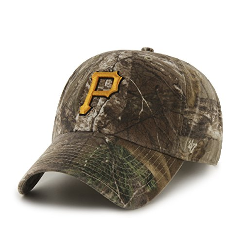 47 Brand MLB Realtree Clean Up Verstellbare Mütze, Unisex, B-RTRGW20GWS-APC-OSF,...