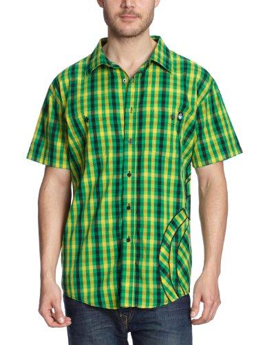 nomis-camiseta-para-hombre-touch-poplin-verde-emerald-green-small-plaid-tallalarge