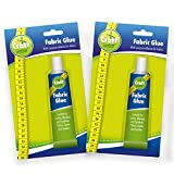 Best Fabric Glues - 2pk Fabric Glue by Craft Central | Extra Review