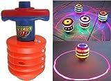 Reckonon Laser Spinning Top with LED Lig...