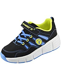 Zapatillas con ruedas automáticas para niños - Mod. 166 - Azul - Varias tallas