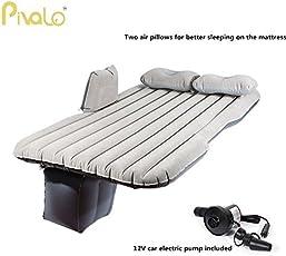 Pivalo Multifunctional Inflatable Car Mattress with 2 Air Pillows (Random Colour)