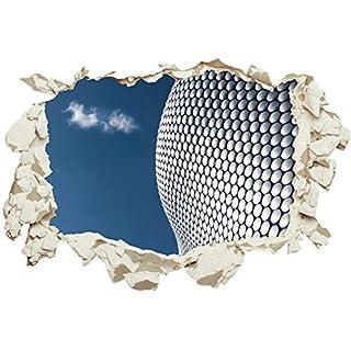 Unified Distribution Architectural Wonder - Wandtattoo mit 3D Effekt, Aufkleber für Wände und Türen Größe: 92x61 cm, Stil: Durchbruch